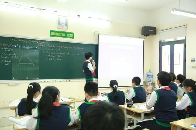 Hà Nội: Teen THCS Nguyễn Tri Phương trải nghiệm học Toán theo chương trình SGK mới ảnh 4