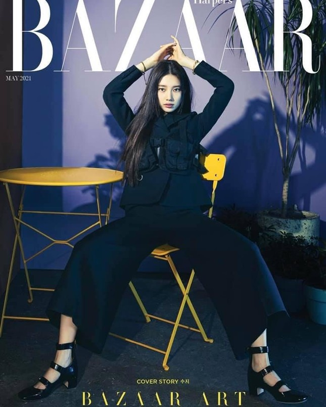 Cùng là đại sứ, được Dior đẩy bìa tạp chí lớn, nhưng vì sao Suzy chỉ mặc đồ Ready To Wear? ảnh 2