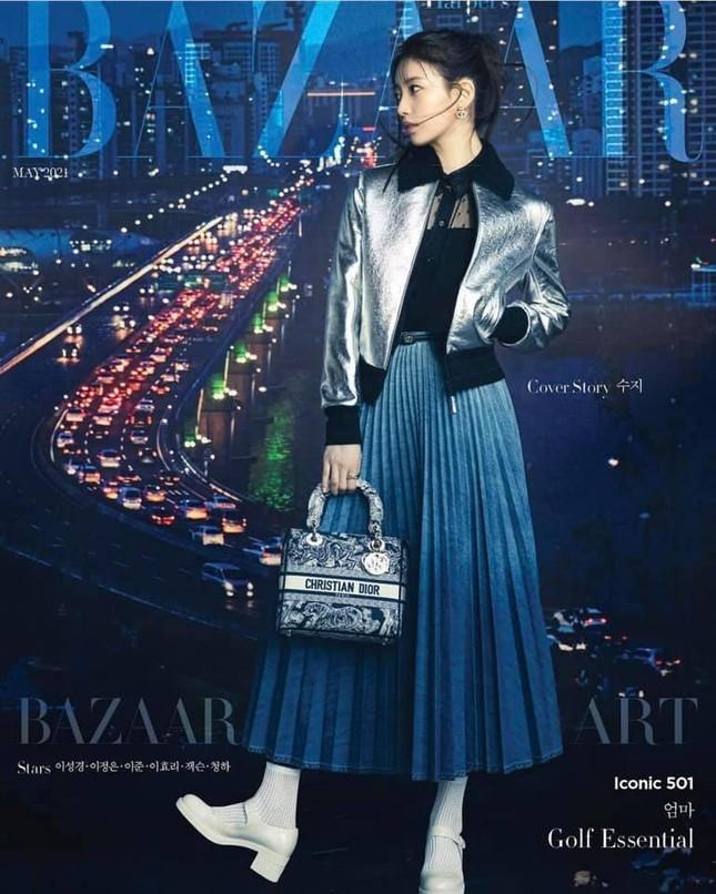 Cùng là đại sứ, được Dior đẩy bìa tạp chí lớn, nhưng vì sao Suzy chỉ mặc đồ Ready To Wear? ảnh 1