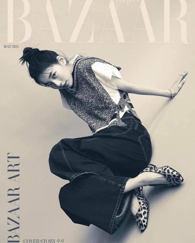 Cùng là đại sứ, được Dior đẩy bìa tạp chí lớn, nhưng vì sao Suzy chỉ mặc đồ Ready To Wear? ảnh 3