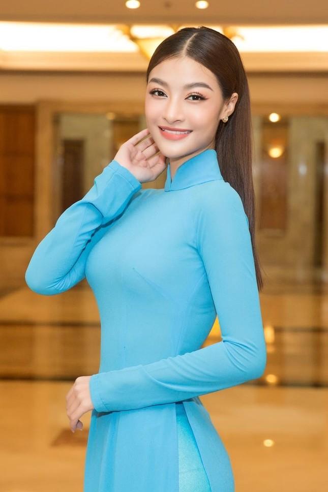 Hoa hậu Đỗ Thị Hà, Tiểu Vy cùng dàn hậu khoe sắc nền nã trong tà áo dài, nhận cương vị mới ảnh 8