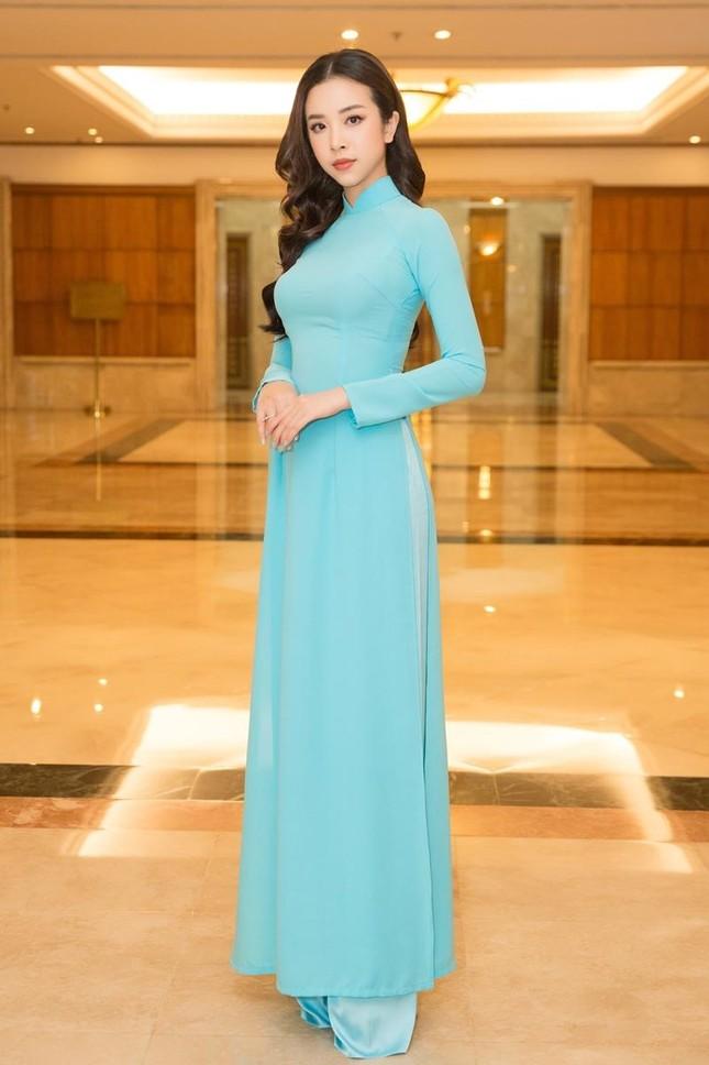 Hoa hậu Đỗ Thị Hà, Tiểu Vy cùng dàn hậu khoe sắc nền nã trong tà áo dài, nhận cương vị mới ảnh 9