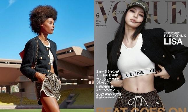 Soi giá đồ trên bìa VOGUE Nhật của Lisa mà sốc, quần soóc thể thao đắt gần bằng áo jacket? ảnh 3