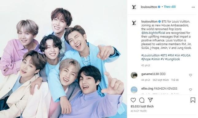 Cả 7 thành viên của BTS gây bất ngờ khi trở thành đại sứ thương hiệu của Louis Vuitton ảnh 1