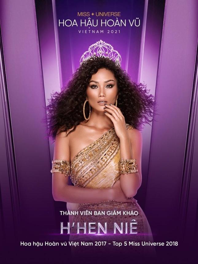 Hoa hậu H'Hen Niê là thành viên Ban giám khảo Hoa hậu Hoàn vũ Việt Nam 2021  ảnh 3