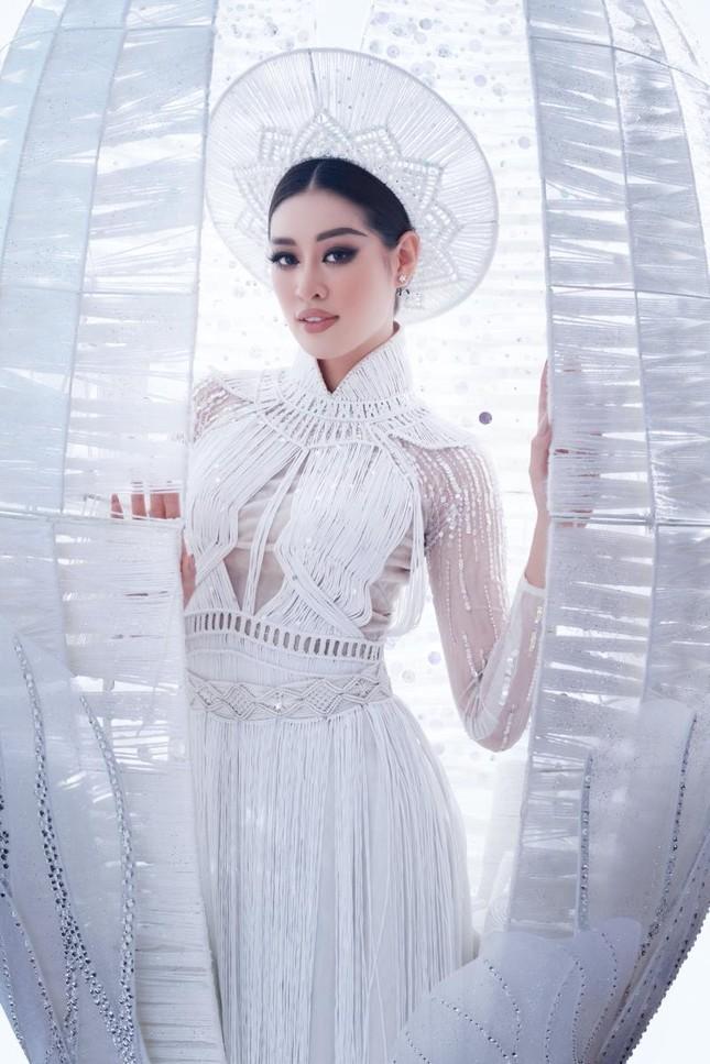 Trang phục dân tộc của Hoa hậu Khánh Vân dự thi Miss Universe lộ diện, có như kỳ vọng? ảnh 3