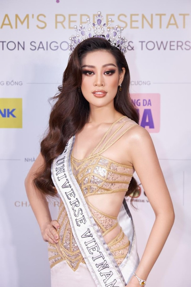 Trang phục dân tộc của Hoa hậu Khánh Vân dự thi Miss Universe lộ diện, có như kỳ vọng? ảnh 1
