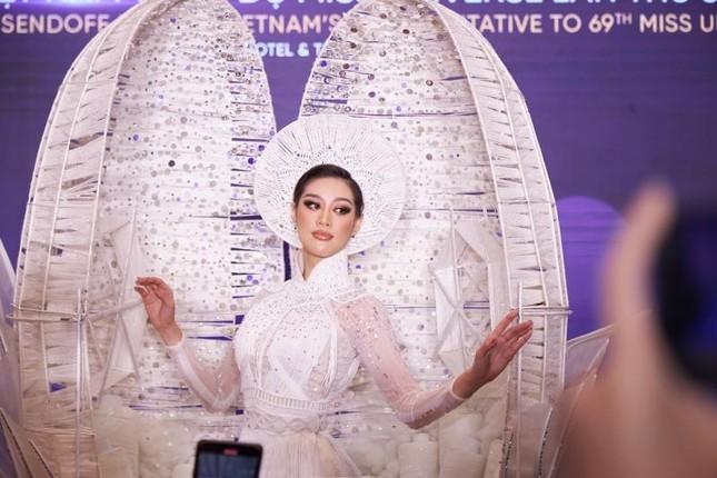 Trang phục dân tộc của Hoa hậu Khánh Vân dự thi Miss Universe lộ diện, có như kỳ vọng? ảnh 5