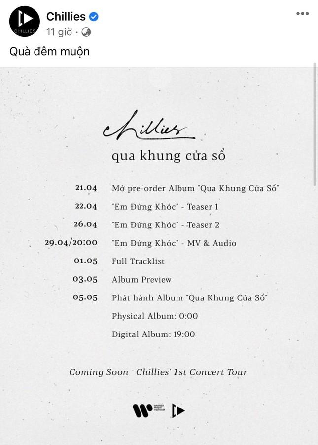 """Sau bao ngày chờ đợi, album đầu tay của Chillies đã được ấn định ngày """"ship tận tay"""" fan ảnh 1"""