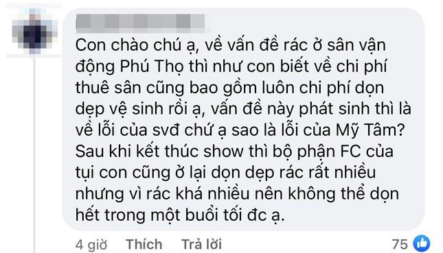 """Liveshow """"Tri Âm"""" của Mỹ Tâm trở thành chủ đề tranh cãi vì hình ảnh SVĐ Phú Thọ ngập rác ảnh 6"""