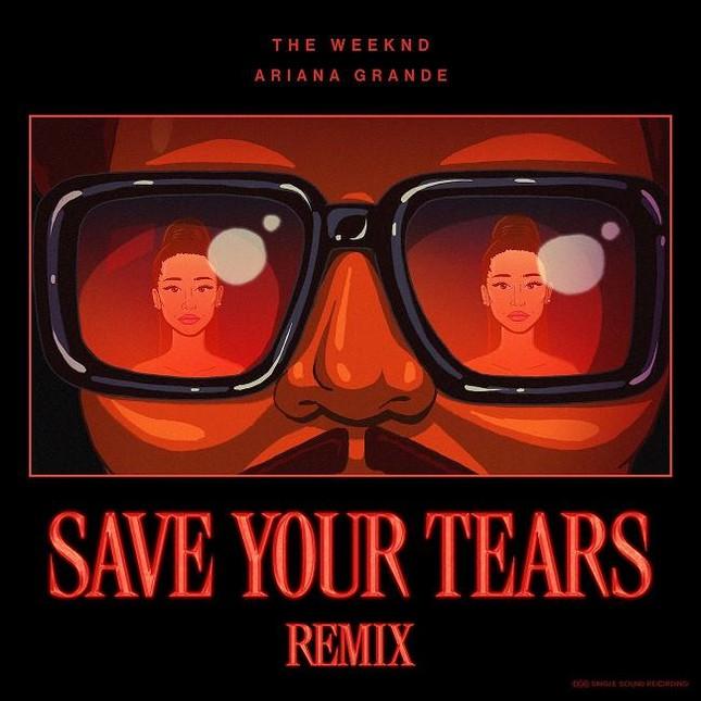 """Liệu """"Save Your Tears Remix"""" có giúp The Weeknd và Ariana Grande đạt No.1 thêm lần nữa? ảnh 1"""