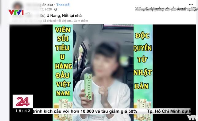 VTV đưa tin về các quảng cáo sản phẩm kém chất lượng, nghệ sĩ Vân Dung bất ngờ bị gọi tên? ảnh 2