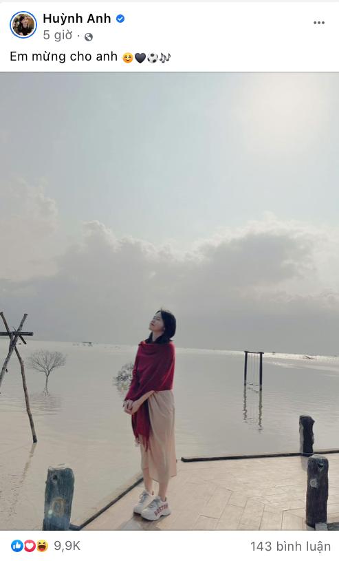 """Huỳnh Anh đăng status """"Em mừng cho anh"""", dân mạng tìm ra danh tính tình mới của Quang Hải? ảnh 4"""