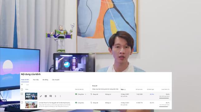 Kênh YouTube Thơ Nguyễn chính thức quay trở lại, đặt ra mục tiêu chinh phục nút Kim cương ảnh 2