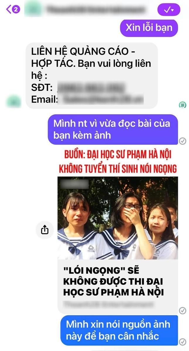 Cô Văn Thùy Dương bức xúc vì ảnh học trò khóc bị fanpage nổi tiếng lấy làm ảnh minh họa ảnh 2