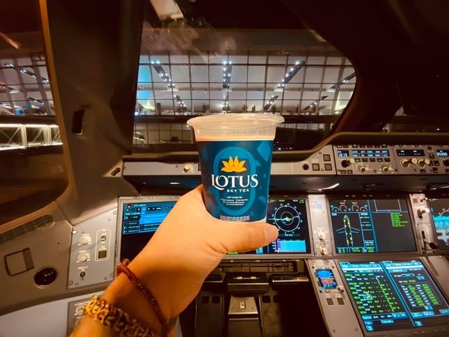 """Không cần đi máy bay vẫn có thể uống trà sữa của Vietnam Airlines, giá cả có """"trên trời""""? ảnh 2"""