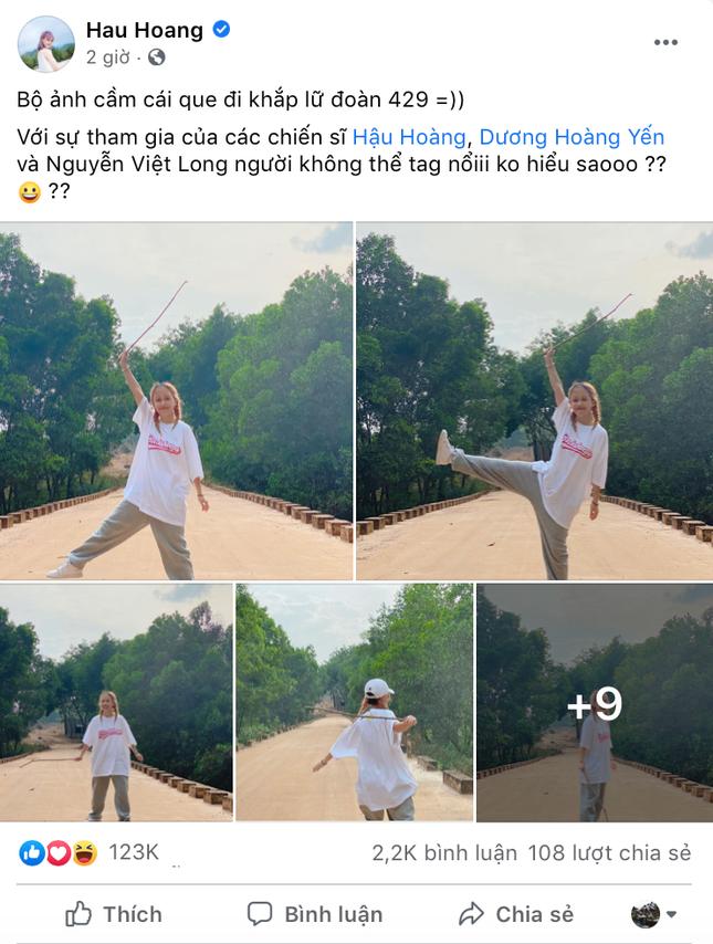 """Hậu Hoàng lại đăng ảnh cùng Mũi trưởng Long, fan thắc mắc """"chừng nào anh chị công khai""""? ảnh 3"""