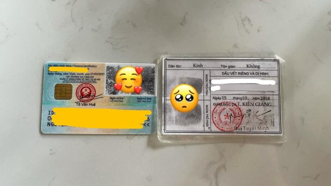 Cận cảnh thẻ Căn cước công dân gắn chíp mới: Màu sắc sinh động, nhỏ gọn và hiện đại hơn ảnh 4