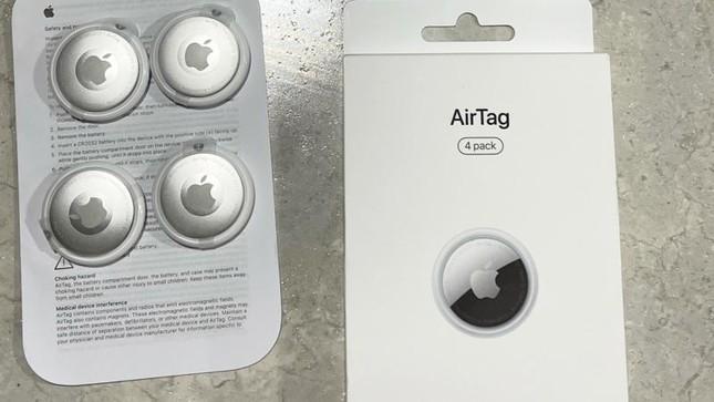 """""""Đập hộp"""" 4 chiếc Apple AirTag được giao sớm, mời các bạn xem ảnh và clip cận cảnh ảnh 1"""