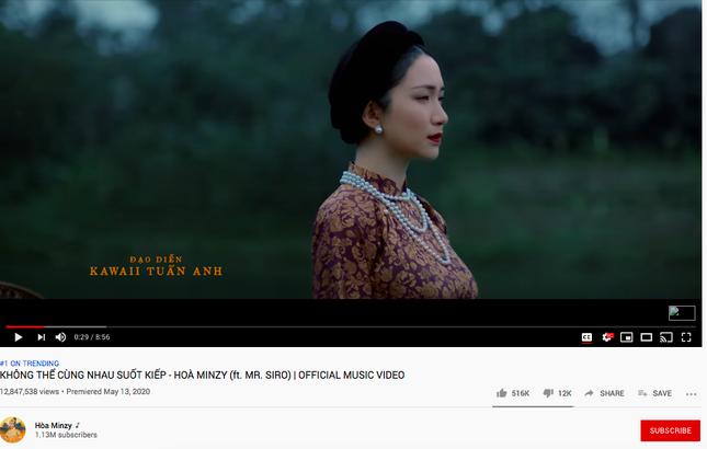 """Sao Việt 24H: Bích Phương """"thả xích"""" single mở đường, Hòa Minzy thống lĩnh Top Trending ảnh 3"""