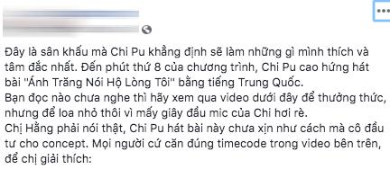"""Ngoài chuyện tình cảm ồn ào, khán giả đọng lại gì khi xem """"Chi Pu's Greatest Show""""? ảnh 7"""