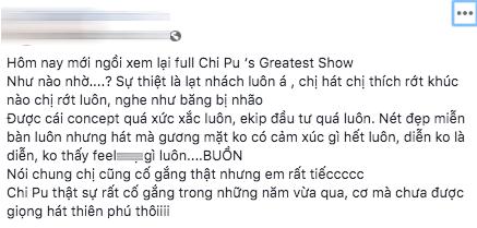 """Ngoài chuyện tình cảm ồn ào, khán giả đọng lại gì khi xem """"Chi Pu's Greatest Show""""? ảnh 6"""