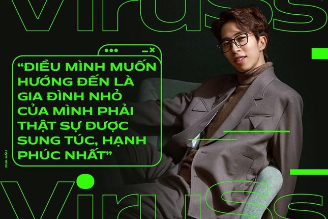 """ViruSs: """"Sau một mối tình tan vỡ, mình cũng buồn nhưng sẽ nhanh chóng cất vào ngăn riêng"""" ảnh 3"""
