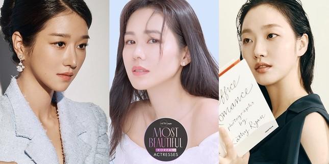 """""""Chị đẹp"""" Son Ye Jin dẫn đầu bảng bình chọn Nữ diễn viên đẹp nhất Hàn Quốc 2020 ảnh 2"""