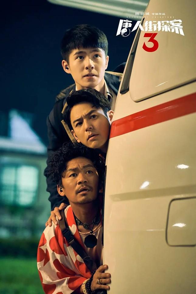 """""""Thám Tử Phố Tàu 3"""" phá kỷ lục của """"Chiến Lang 2"""", Lưu Hạo Nhiên trở thành """"bảo chứng phòng vé"""" ảnh 5"""