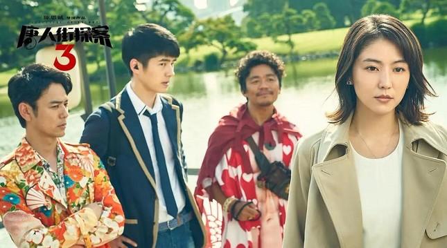 """""""Thám Tử Phố Tàu 3"""" phá kỷ lục của """"Chiến Lang 2"""", Lưu Hạo Nhiên trở thành """"bảo chứng phòng vé"""" ảnh 2"""