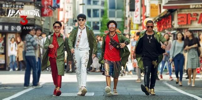 """""""Thám Tử Phố Tàu 3"""" phá kỷ lục của """"Chiến Lang 2"""", Lưu Hạo Nhiên trở thành """"bảo chứng phòng vé"""" ảnh 1"""
