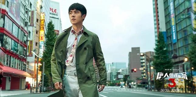 """""""Thám Tử Phố Tàu 3"""" phá kỷ lục của """"Chiến Lang 2"""", Lưu Hạo Nhiên trở thành """"bảo chứng phòng vé"""" ảnh 4"""