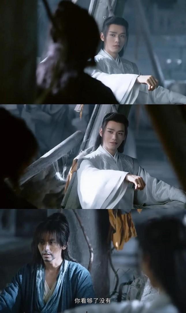 """Cung Tuấn - Trương Triết Hạn """"tình bể bình"""" trong """"Sơn Hà Lệnh"""", fan kêu xem gấp không bị cắt! ảnh 7"""