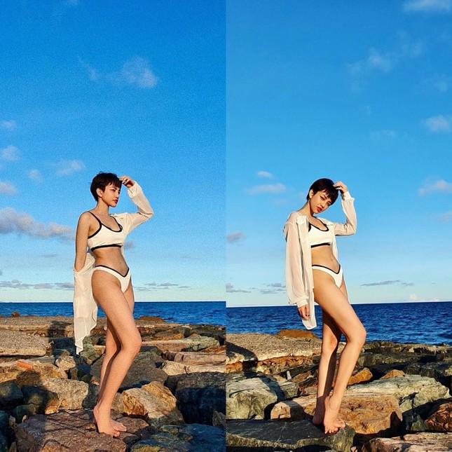 """Mỹ nhân Việt thi nhau diện bikini, khoe dáng """"đồng hồ cát"""" siêu chuẩn  ảnh 10"""