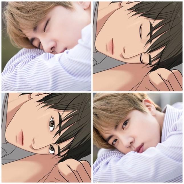 """Vẫn biết Jin (BTS) là trai đẹp """"cực phẩm"""", nhưng """"tự luyến"""" đến mức này thì """"cạn lời"""" thật ảnh 3"""