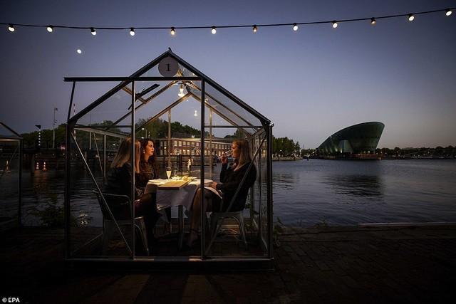 Hẹn hò thời COVID-19: Đến nhà hàng và ăn tối trong lồng kính mini lãng mạn như cổ tích ảnh 2