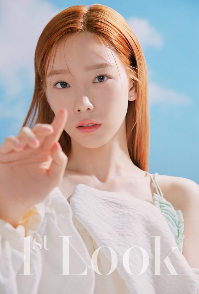 Taeyeon xinh như thiên thần trên bìa tạp chí 1st Look, nghẹn ngào mỗi khi nhắc đến fan ảnh 3