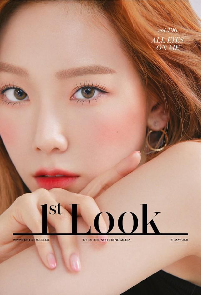 Taeyeon xinh như thiên thần trên bìa tạp chí 1st Look, nghẹn ngào mỗi khi nhắc đến fan ảnh 1
