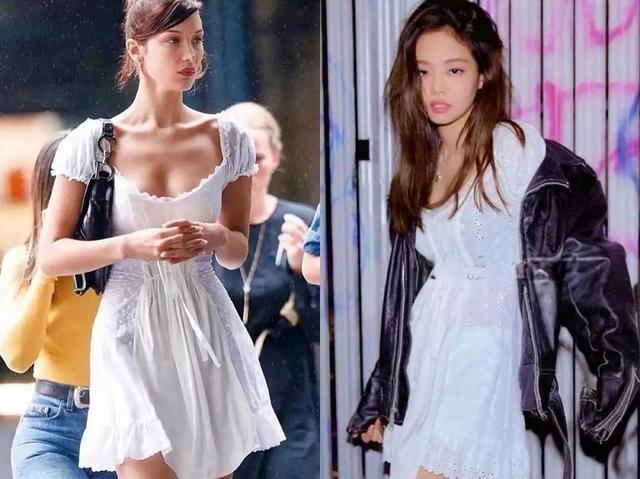 """Jennie BLACKPINK """"đụng hàng"""" Bella Hadid đến 8 lần, thật khó nói ai mặc đẹp hơn! ảnh 1"""