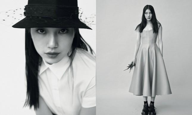 """Suzy xinh đẹp sang trọng """"không có đối thủ"""" trên bìa tạp chí VOGUE Hàn tháng 6 ảnh 7"""