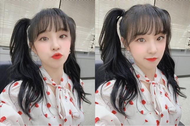 """Xinh xắn, trẻ trung lại """"bao"""" mát, bảo sao các nữ idol thích buộc tóc kiểu """"bé gái"""" ảnh 8"""