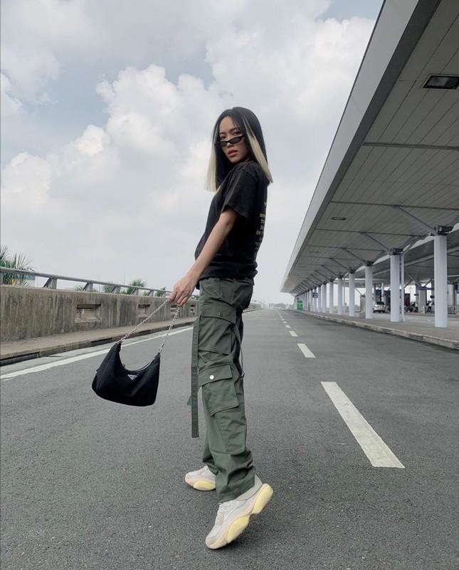 """Linh Ngọc Đàm, Chi Pu, Diệu Nhi mix đồ với sneaker, """"không có chất nhất, chỉ có chất hơn"""" ảnh 3"""