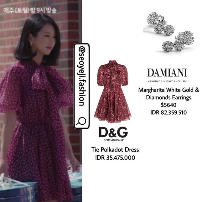 """Bóc giá loạt trang phục siêu xa xỉ của Seo Ye Ji trong tập 11 - 12 """"Điên Thì Có Sao"""" ảnh 1"""