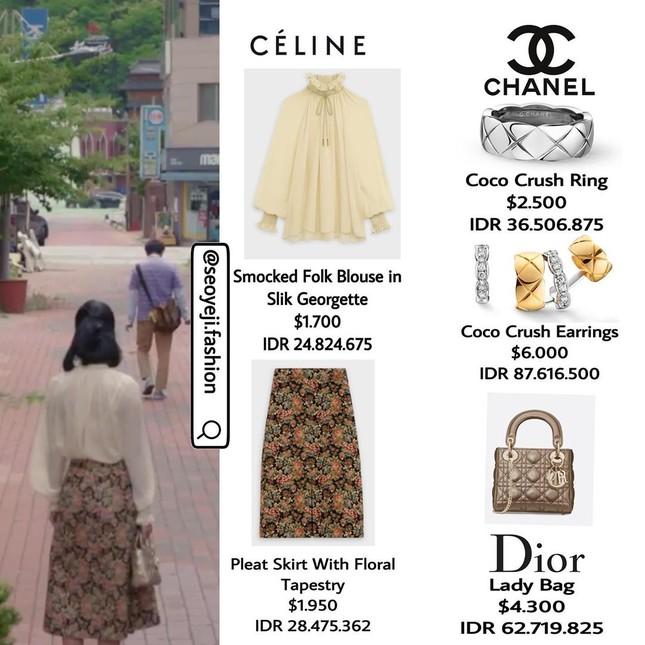"""Bóc giá loạt trang phục siêu xa xỉ của Seo Ye Ji trong tập 11 - 12 """"Điên Thì Có Sao"""" ảnh 4"""