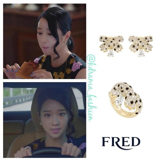 """Bóc giá loạt trang phục siêu xa xỉ của Seo Ye Ji trong tập 11 - 12 """"Điên Thì Có Sao"""" ảnh 9"""