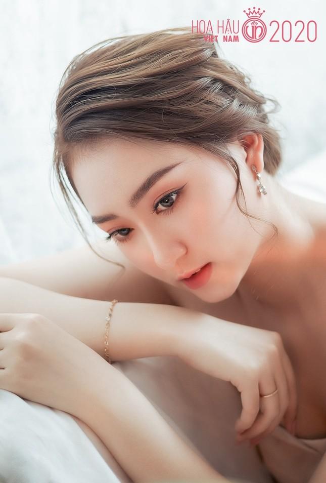 Kim Trà My - thí sinh có ngoại hình gây ấn tượng mạnh trên fanpage Hoa Hậu Việt Nam ảnh 2
