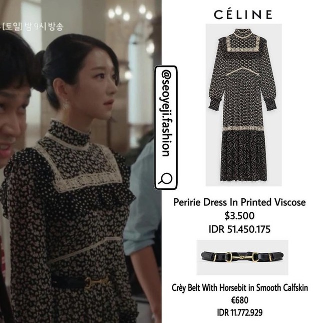 """10 bộ váy đắt giá nhất được Seo Ye Ji mặc trong """"Điên Thì Có Sao"""" khiến fan mê đắm ảnh 4"""