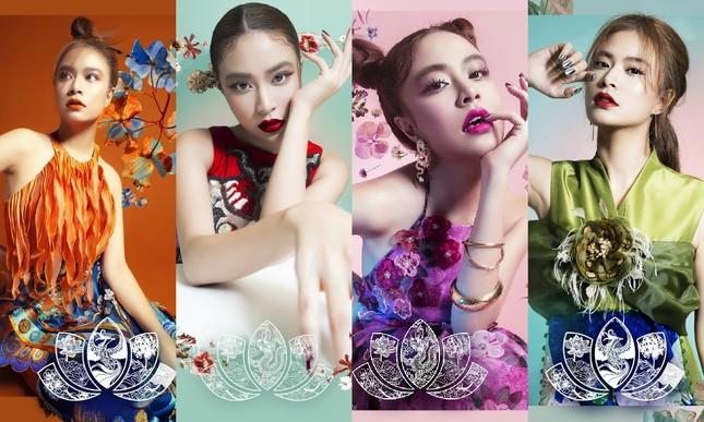 Ngắm 4 set make-up mang dấu ấn Hoàng Thùy Linh hợp tác cùng thương hiệu mỹ phẩm đình đám ảnh 1