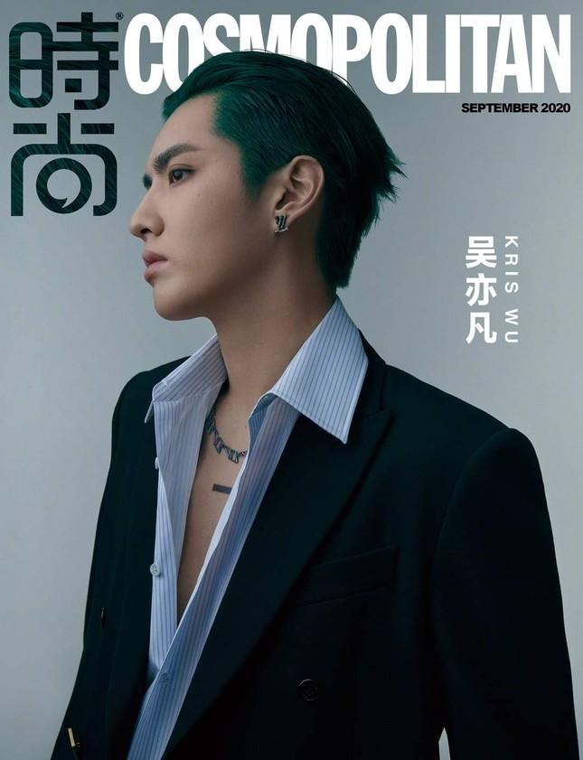 Ngô Diệc Phàm chính thức trở thành sao nam 9X đầu tiên lên bìa Kim Cửu của Cosmopolitan ảnh 2
