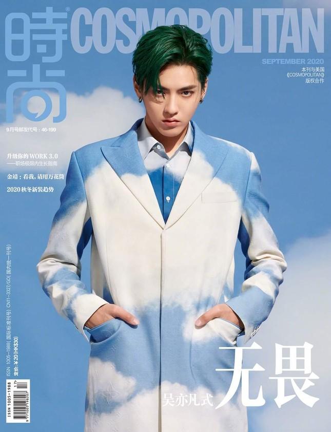 Ngô Diệc Phàm chính thức trở thành sao nam 9X đầu tiên lên bìa Kim Cửu của Cosmopolitan ảnh 1